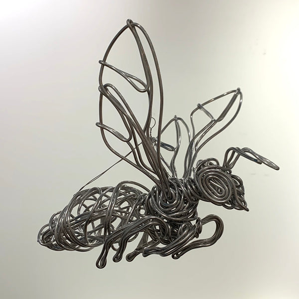 FLYING HONEYBEE SCULPTURE