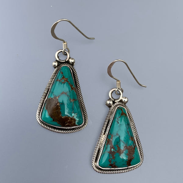 DEEP TURQUOISE EARRINGS