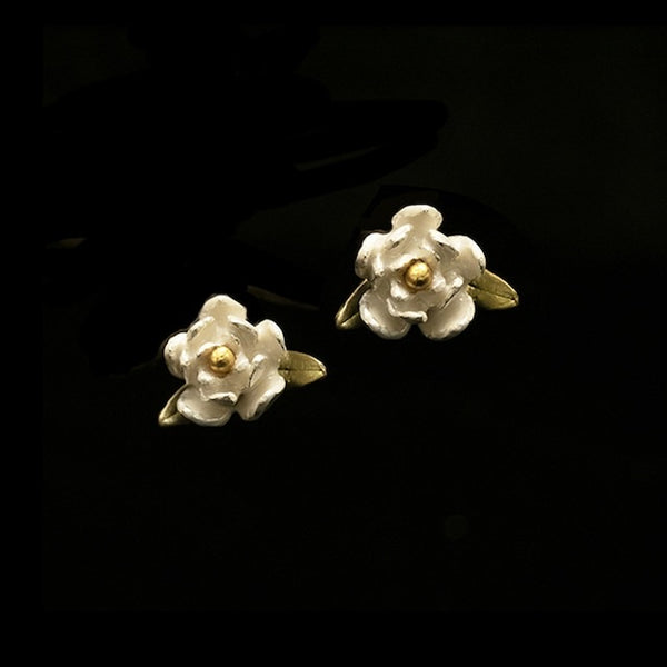 MAGNOLIA POST EARRING