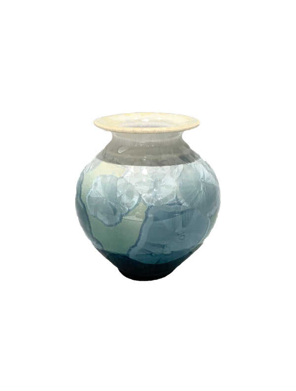 STELLAR CLASSIC MINI VASE (CREAM/GREEN/BLUE)