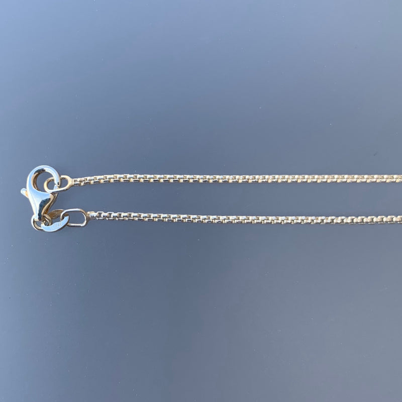 1.2 MM HALF ROUND BOX CHAIN 16""