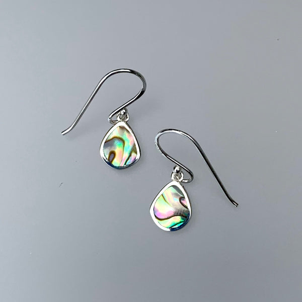 ABALONE INLAY EARRING