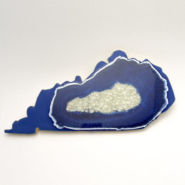KENTUCKY TRIVET BLUE