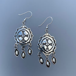 NAVAJO DANGLE EARRINGS