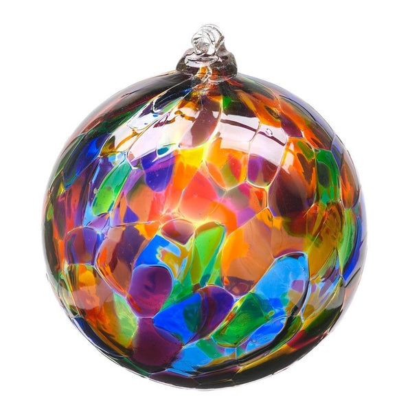 "2"" CALICO ORNAMENT - FESTIVE MULTI COLOR"