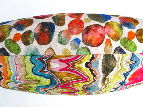 AGATE AND STONES PILLOW