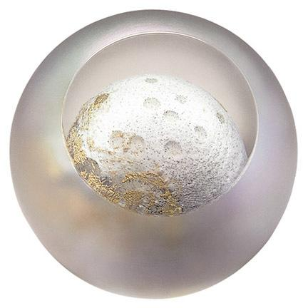 "3"" CELESTIAL SERIES PAPERWEIGHT - MOON"