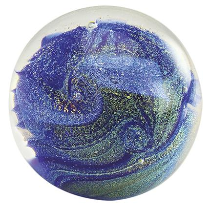 "3"" CELESTIAL SERIES PAPERWEIGHT - NORTHERN LIGHTS"