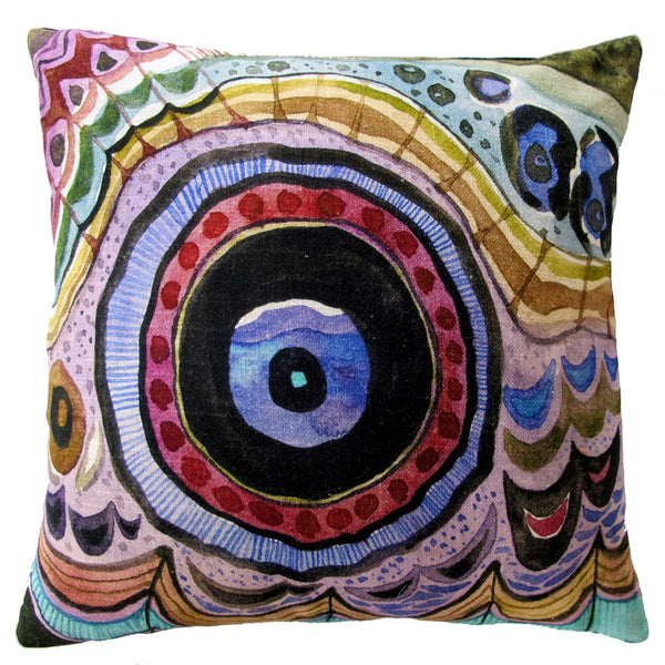 EYE OF THE MOTH PILLOW