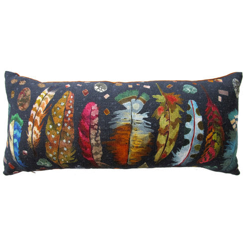 FEATHERS EARTH LUMBAR PILLOW