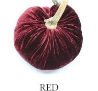 VELVET PUMPKIN - RED