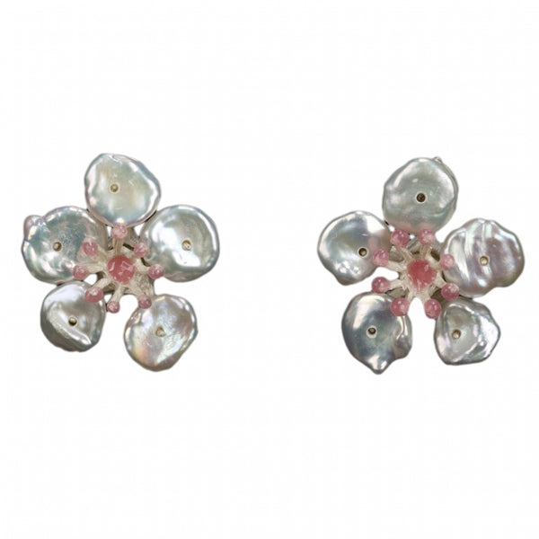 CHERRY BLOSSOM POST EARRINGS