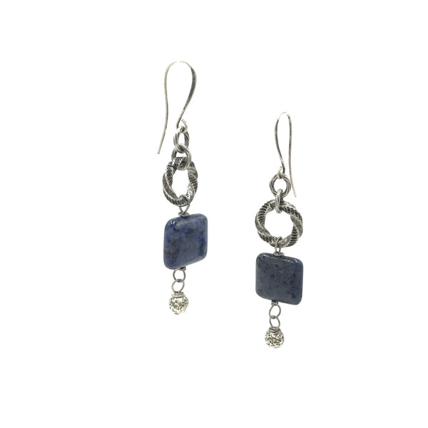 Sweet Blessings Blue Earrings