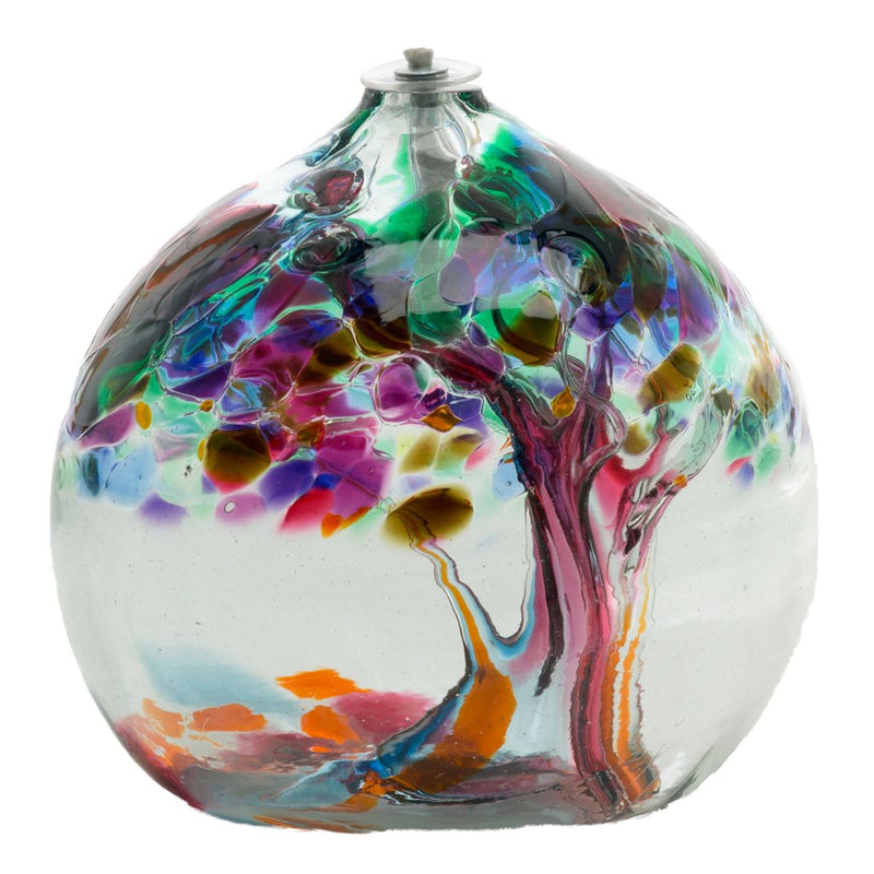 "6"" TREE OF ENCHANTMENT OIL LAMP - FRIENDSHIP"