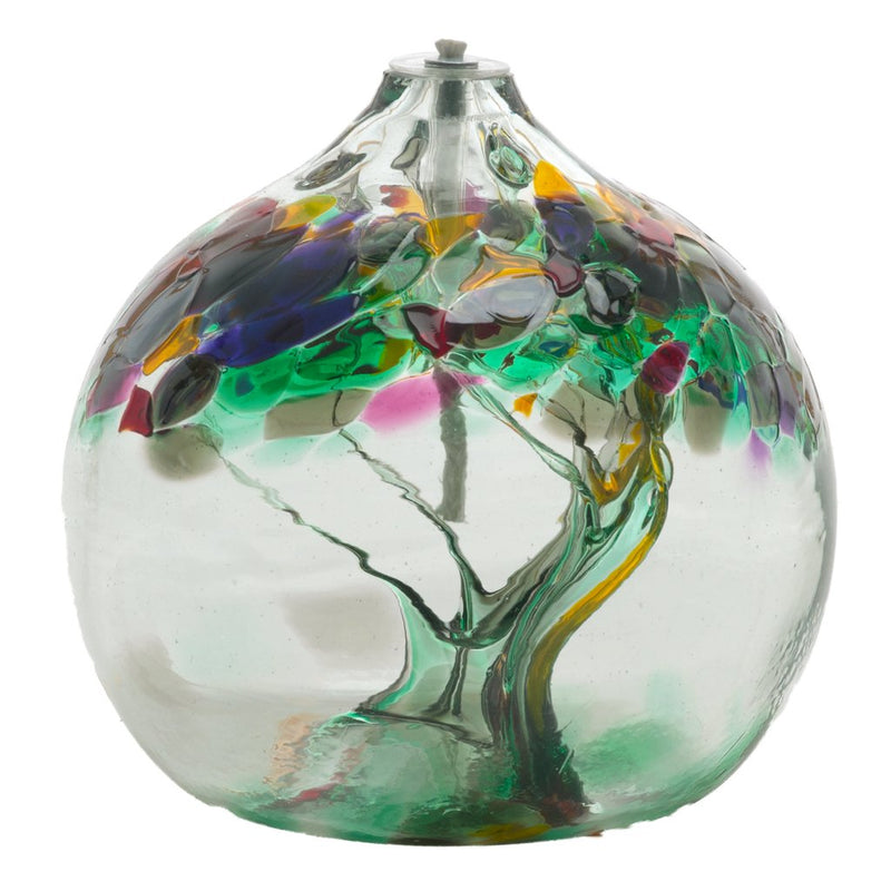 "6"" TREE OF ENCHANTMENT OIL LAMP- REMEMBRANCE"