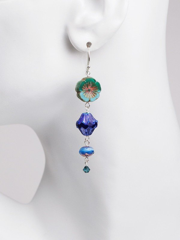 TURQUOISE WATERSCAPE EARRINGS