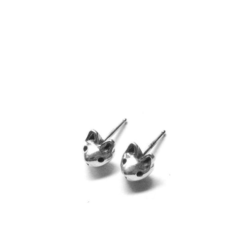 TINY CAT HEAD STUDS - elaine ho - 1