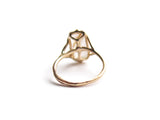 14K GOLDENHAIR RING