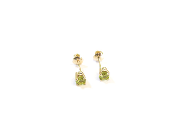 14K GOLD CHRYSOBERYL EARRINGS