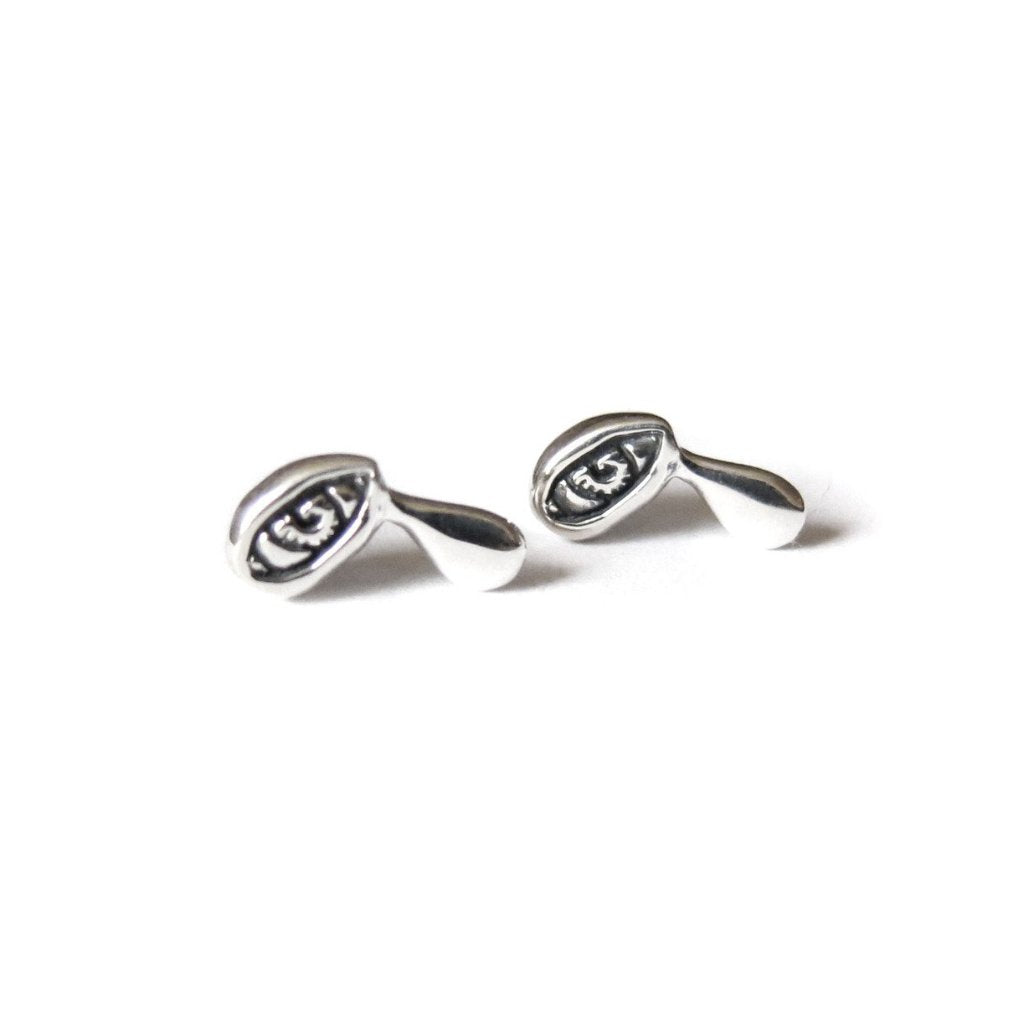 TALISMAN TINY CRYING EYE EARRINGS - elaine ho - 1