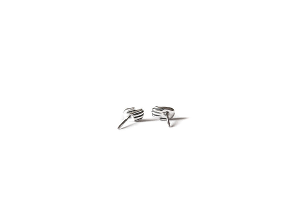 TALISMAN TINY HAND EARRINGS - elaine ho - 3