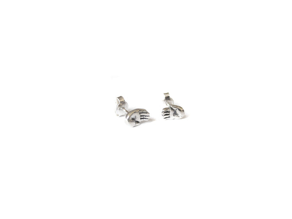 TALISMAN TINY HAND EARRINGS - elaine ho - 6