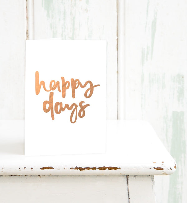 emma kate co Card - Happy Days