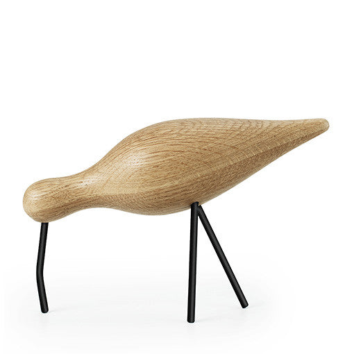 Normann Copenhagen Shorebird Large Oak Black
