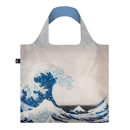 Loqi Shopping Bag Museum Collection - The Great Wave