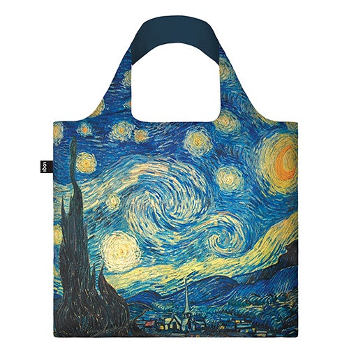 Loqi Shopping Bag Museum Collection - Starry Night