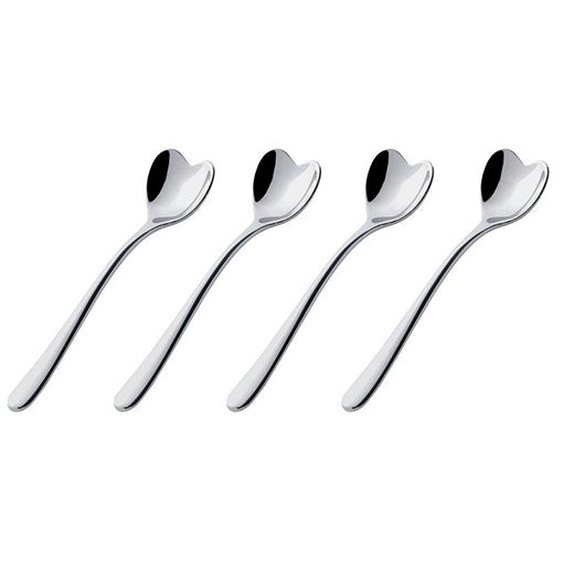 Alessi Big Love Ice Cream Spoon Set of 4
