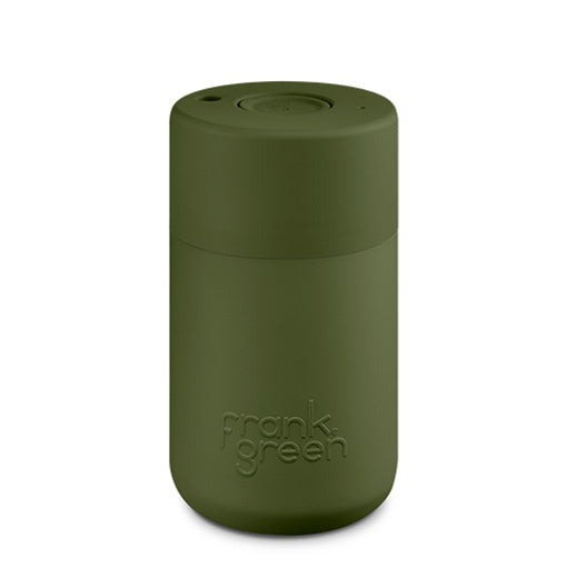 Frank Green Original Smart Cup 12 oz Khaki