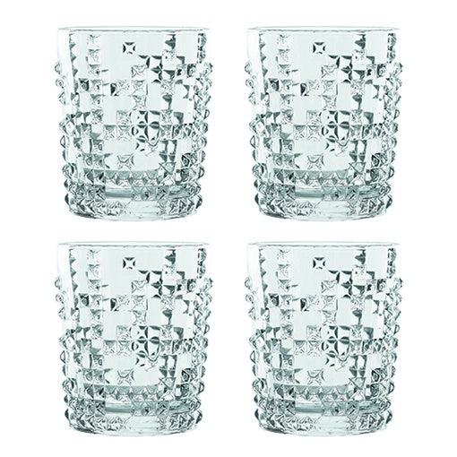 Nachtmann Punk Whisky Glass Set of 4