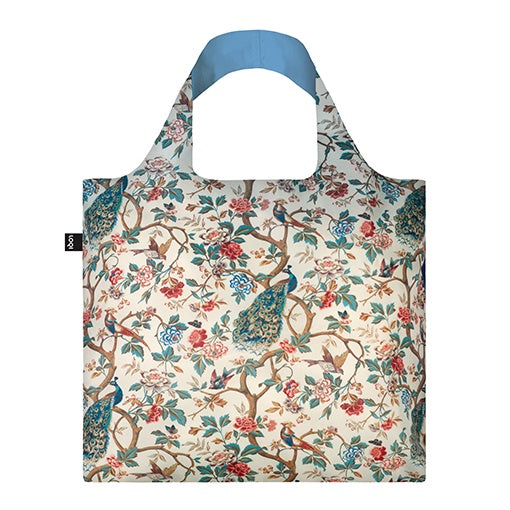 Loqi Shopping Bag Museum Collection - Peacock