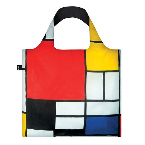 Loqi Shopping Bag Museum Collection - Mondrian