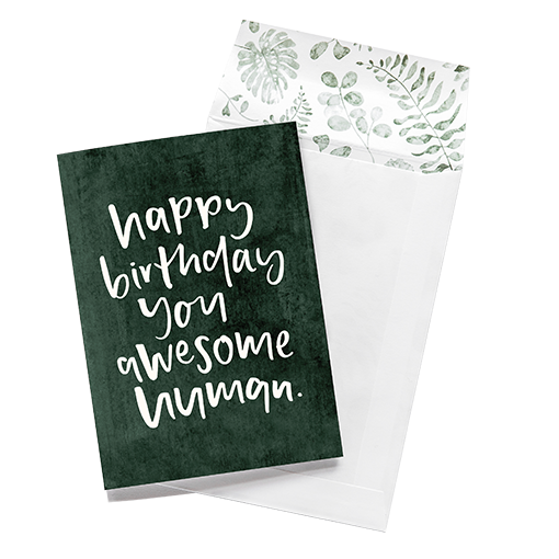 emma kate co Card - Happy Birthday You Awesome Human