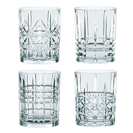 Nachtmann Highland Whisky Glass Set of 4