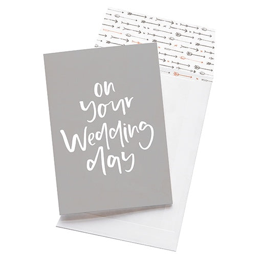 emma kate co Card - On Your Wedding Day