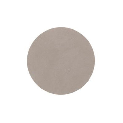 LindDNA Round Coaster Nupo Light Grey
