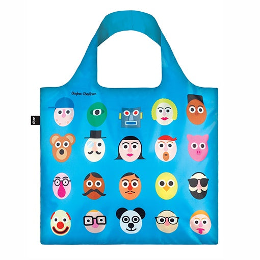 Loqi Shopping Bag - Faces