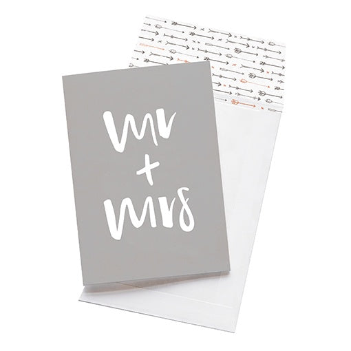 emma kate co Card - Mr & Mrs