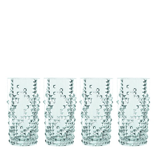 Nachtmann Punk Long Drink Glass Set of 4