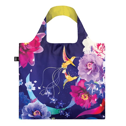 Loqi Shopping Bag - Hummingbirds