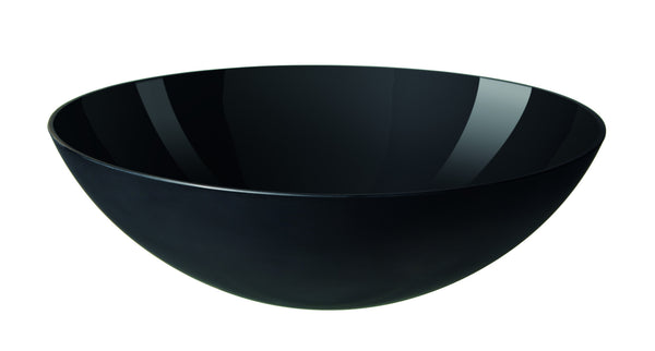 Normann Copenhagen Krenit Salad Bowl Black 28cm