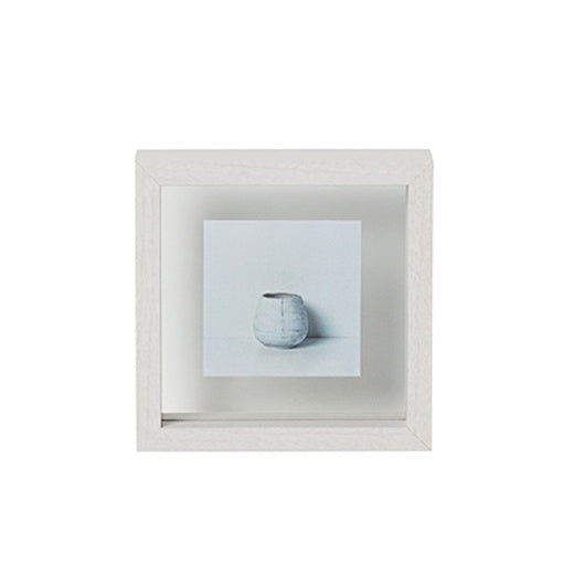 Papaya Theo Square Frame White Small 19cm