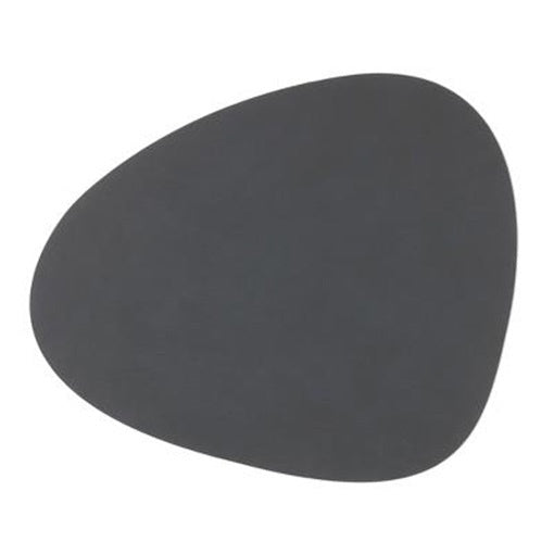 LindDNA Curve Placemat Nupo Anthracite
