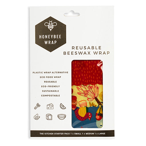HoneyBee Wrap Kitchen Starter Pack of 3