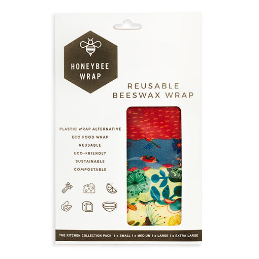 HoneyBee Wrap Kitchen Collection Pack of 4