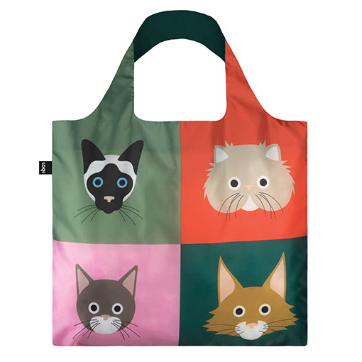 Loqi Shopping Bag - Cats