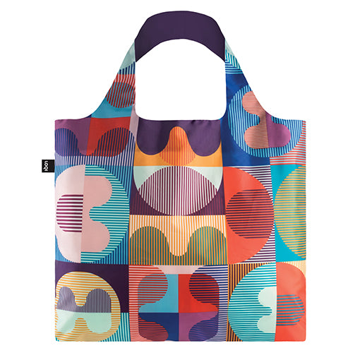 Loqi Shopping Bag - Grid